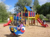Sakstagala pagastā tiks ierīkots bērnu rotaļu laukums