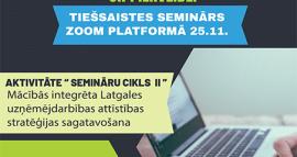 """Tiešsaistes seminārs """"Finanšu un investīciju plānošana, rīcības tūrisma produktu attīstībai un pilnveidei"""""""