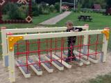 Sakstagalā jauns bērnu rotaļu laukums